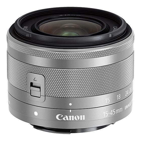 【送料無料】Canon 0597C001 EF-M15-45mm F3.5-6.3 IS STM (シルバー)【在庫目安:お取り寄せ】| カメラ ズームレンズ 交換レンズ レンズ ズーム 交換 マウント