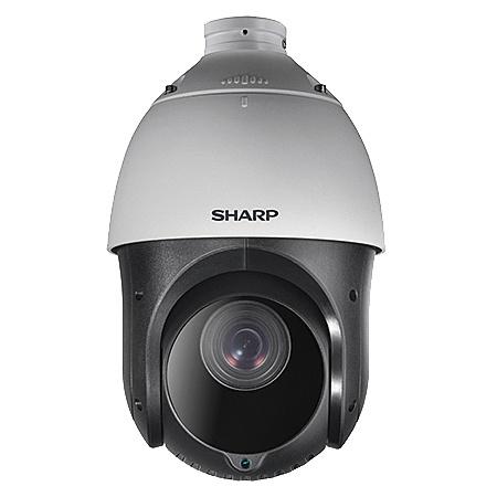 【送料無料】SHARP YK-P041G 業務用ネットワーク監視カメラ PTZタイプ4M 25倍ズーム【在庫目安:お取り寄せ】| カメラ ネットワークカメラ ネカメ 監視カメラ 監視 屋外 録画