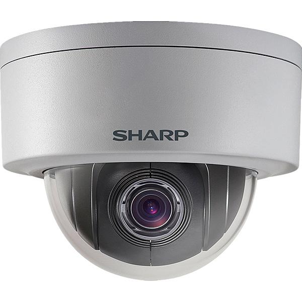 【送料無料】SHARP YK-P021F 業務用ネットワーク監視カメラ PTZタイプ2M 4倍ズーム【在庫目安:お取り寄せ】| カメラ ネットワークカメラ ネカメ 監視カメラ 監視 屋外 録画