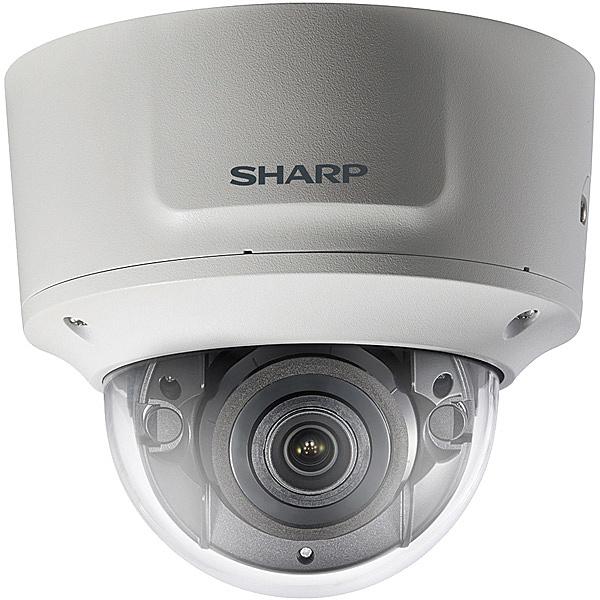 【送料無料】SHARP YK-D021F 業務用ネットワーク監視カメラ ドームタイプ2M VF【在庫目安:お取り寄せ】