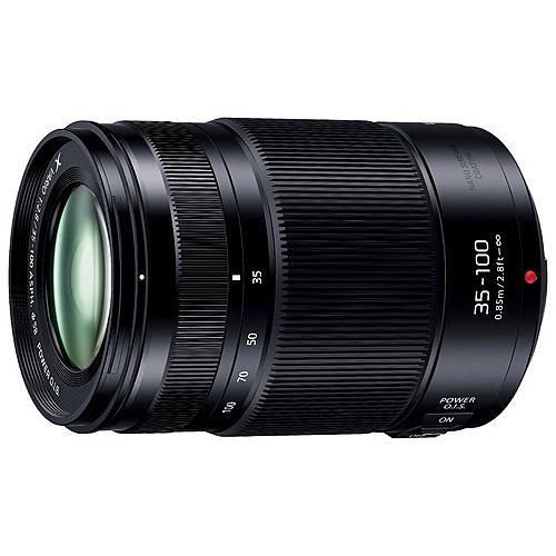 【送料無料】Panasonic H-HSA35100 デジタル一眼カメラ用交換レンズ LUMIX G X VARIO 35-100mm/ F2.8 II/ POWER O.I.S.【在庫目安:お取り寄せ】  カメラ ズームレンズ 交換レンズ レンズ ズーム 交換 マウント