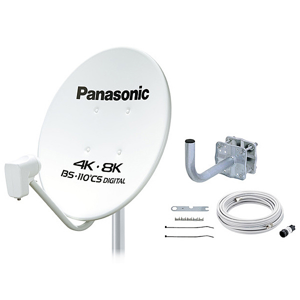 【送料無料】Panasonic TA-BCS45UK1 45型BS・110度CSアンテナ【在庫目安:僅少】