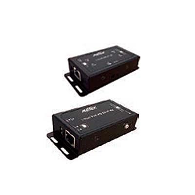 【送料無料】ジョブル TE11-110 kit A PoE Plus対応IP長距離ツイストペアケーブル伝送 送信器/ 受信器セット【在庫目安:お取り寄せ】