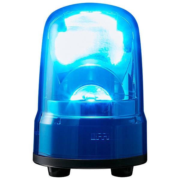 【送料無料】パトライト SKS-M2J-B 小型LED回転灯 青 AC100~240V【在庫目安:お取り寄せ】