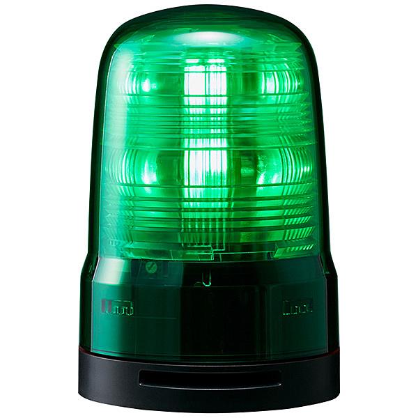 【送料無料】パトライト SF08-M1KTB-G 小型LED回転灯 緑 DC12~24V ブザー付き【在庫目安:お取り寄せ】