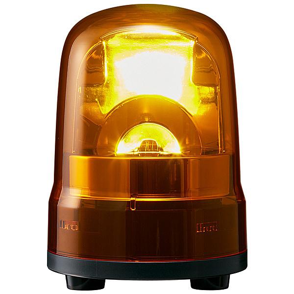 【送料無料】パトライト SKH-M2J-Y 中型LED回転灯 黄 AC100~240V【在庫目安:お取り寄せ】