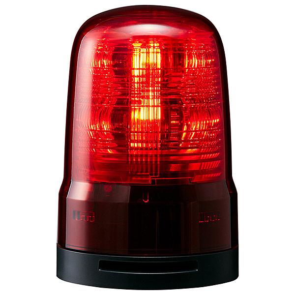 【送料無料】パトライト SF08-M2KTB-R 小型LED回転灯 赤 AC100~240V ブザー付き【在庫目安:お取り寄せ】