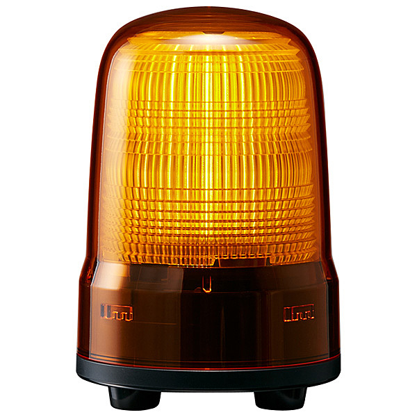 【送料無料】パトライト SL08-M1JN-Y 小型LED表示灯 黄 DC12~24V【在庫目安:お取り寄せ】