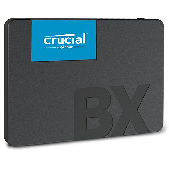 【送料無料】crucial technology CT480BX500SSD1JP [Micron製] 内蔵SSD 2.5インチ BX500 480GB (3D NAND/ SATA 6Gbps/ 3年保証) 国内正規品【在庫目安:僅少】
