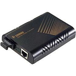 【送料無料】ハイテクインター 161-EW-007 メディアコンバータ EL100C (MM。SC2芯。2km)【在庫目安:お取り寄せ】
