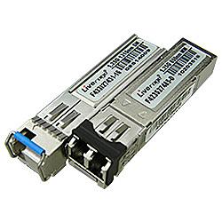 【送料無料】ハイテクインター 162-LV-003 SFPモジュール F433I21431-16 (SM、SC1芯、20km)【在庫目安:お取り寄せ】| パソコン周辺機器 SFPモジュール 拡張モジュール モジュール SFP スイッチングハブ 光トランシーバ トランシーバ PC パソコン