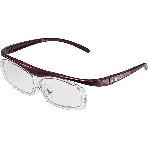 【送料無料】ケンコー・トキナー KTL5104RPR 眼鏡型拡大鏡 ユイルーペ(YUIルーペ) レギュラーサイズ 1.6倍+1.89倍セット KTL-5104R PR (パープル)【在庫目安:お取り寄せ】  光学機器 拡大鏡 ルーペ 拡大 虫眼鏡