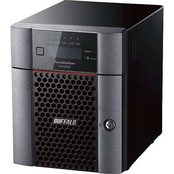 【送料無料】バッファロー WSH5420DN24S9 ハードウェアRAID TeraStation WSH5420DNS9シリーズ 4ベイ デスクトップNAS 24TB Standard【在庫目安:僅少】| パソコン周辺機器 WindowsNAS Windows Nas RAID 外付け 外付