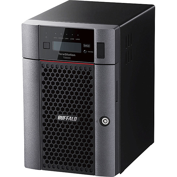 【送料無料】バッファロー TS6600DN1806 TeraStation TS6000DNシリーズ 6ベイ デスクトップNAS 18TB【在庫目安:僅少】| NAS RAID レイド