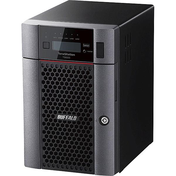 【送料無料】バッファロー TS6600DN6006 TeraStation TS6000DNシリーズ 6ベイ デスクトップNAS 60TB【在庫目安:お取り寄せ】| NAS RAID レイド