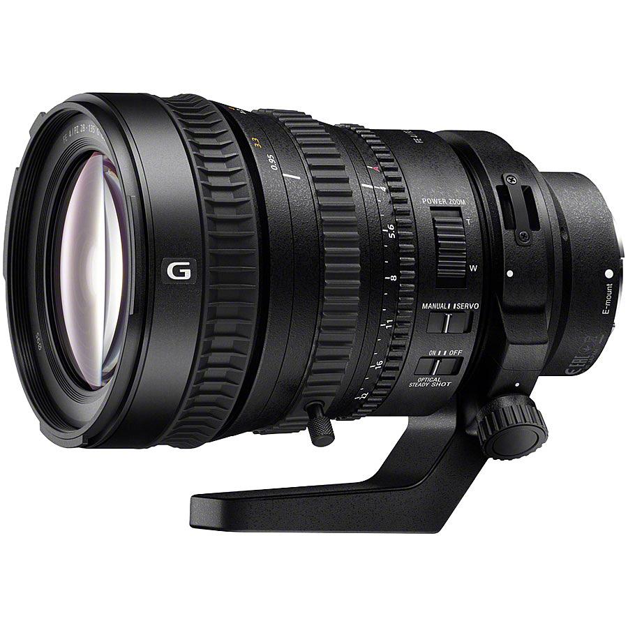 【送料無料】SONY(VAIO) SELP28135G Eマウント交換レンズ FE PZ 28-135mm F4 G OSS【在庫目安:お取り寄せ】| カメラ ズームレンズ 交換レンズ レンズ ズーム 交換 マウント