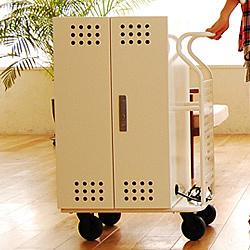 【送料無料】エム・ティ・プランニング IPC-SL-30WH タブレット収納キャビネット Tablet*Cart SMALL 30台収納 白色【在庫目安:お取り寄せ】