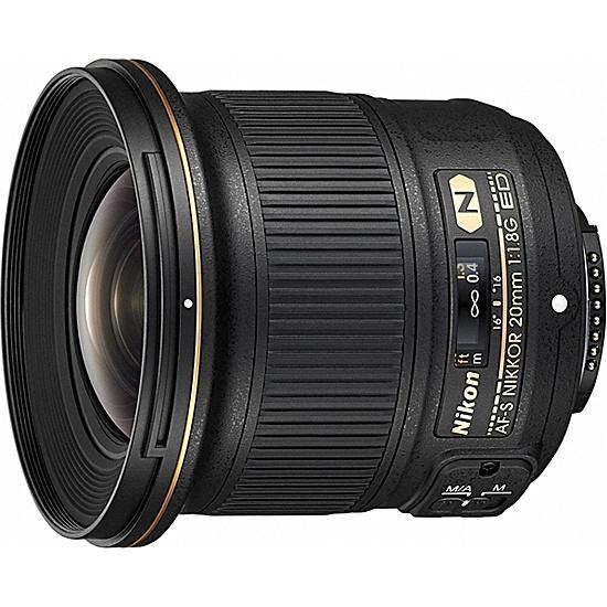 【送料無料】Nikon AF-S20 1.8G AF-S NIKKOR 20mm f/ 1.8G ED【在庫目安:お取り寄せ】  カメラ 単焦点レンズ 交換レンズ レンズ 単焦点 交換 マウント ボケ
