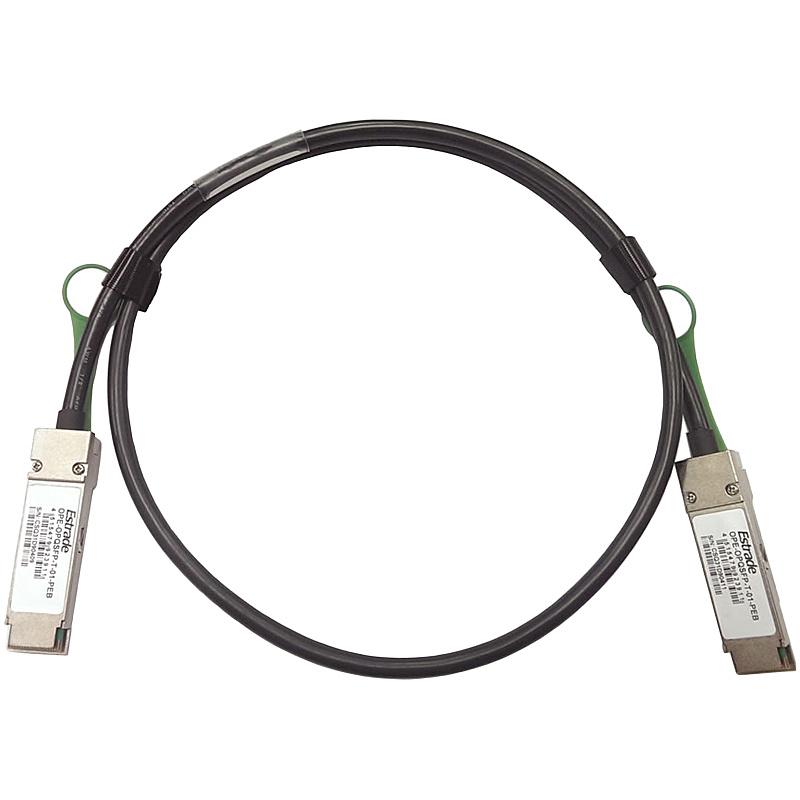 【送料無料】TEKWIND OPQSFP-T-01-PEB QSFP+コネクタ付Twinaxダイレクトアタッチケーブル 1m【在庫目安:お取り寄せ】