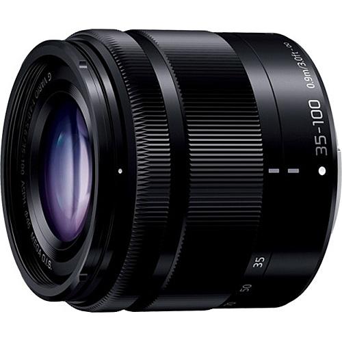 【送料無料】Panasonic H-FS35100-K デジタル一眼カメラ用交換レンズ LUMIX G VARIO 35-100mm/ F4.0-5.6 ASPH./ MEGA O.I.S. (ブラック)【在庫目安:お取り寄せ】| カメラ ズームレンズ 交換レンズ レンズ ズーム 交換 マウント