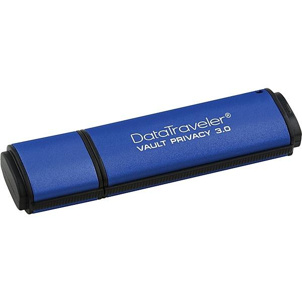 【送料無料】キングストン DTVP30/64GB DataTraveler Vault Privacy 3.0 64GB USBメモリー セキュリティモデル 防水機能付【在庫目安:お取り寄せ】