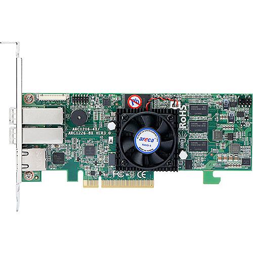 【送料無料】ARECA ARC-1226-8X SAS RAIDカード 8ポート PCIe x8、RAID level 0、1、1E、3、5、6、10、30、50、60対応 LP 2xSFF-8644【在庫目安:お取り寄せ】| パソコン周辺機器 SATAアレイコントローラー SATA アレイ コントローラー PC パソコン