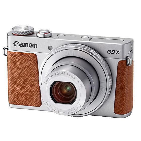 【送料無料】Canon 1718C004 デジタルカメラ PowerShot G9 X Mark II (シルバー)【在庫目安:僅少】