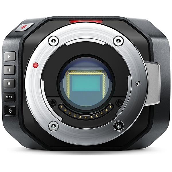 【送料無料】Blackmagic Design CINECAMMICHDMFT Micro Cinema Camera【在庫目安:お取り寄せ】
