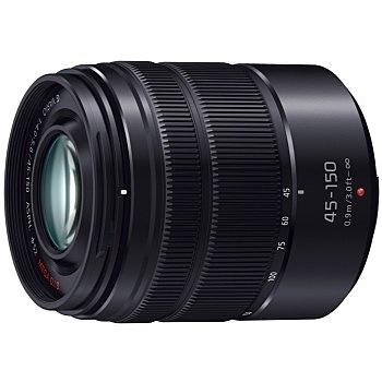 【送料無料】Panasonic H-FS45150-KA デジタル一眼カメラ用交換レンズ LUMIX G VARIO 45-150mm/ F4.0-5.6 ASPH./ MEGA O.I.S. (ブラック)【在庫目安:お取り寄せ】| カメラ ズームレンズ 交換レンズ レンズ ズーム 交換 マウント