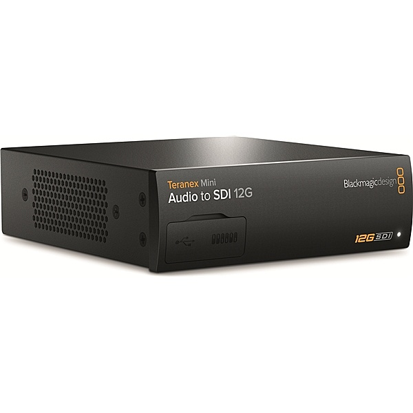 【送料無料】Blackmagic Design CONVNTRM/CB/AUSDI Teranex Mini - Audio to SDI 12G【在庫目安:お取り寄せ】| パソコン周辺機器 グラフィック ビデオ オプション ビデオ パソコン PC