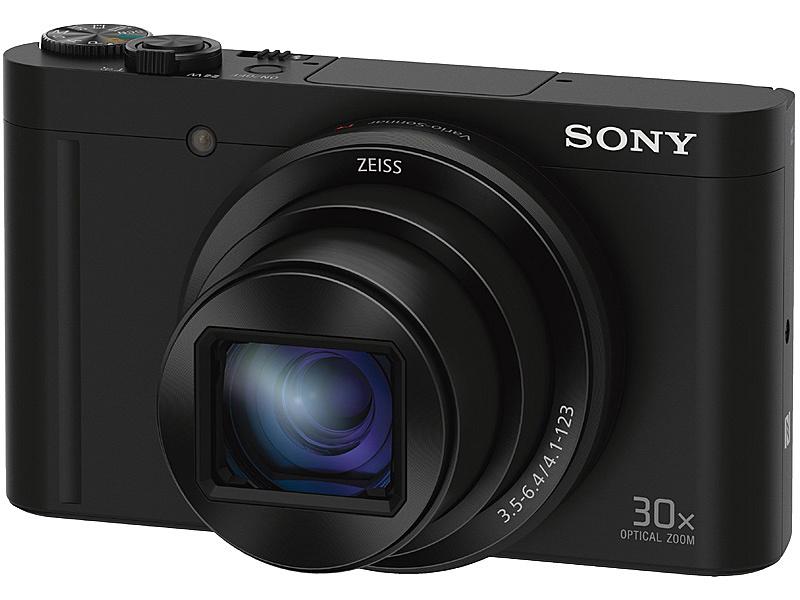 【送料無料】SONY(VAIO) DSC-WX500/B デジタルスチルカメラ Cyber-shot WX500 (1820万画素CMOS/ 光学x30) ブラック【在庫目安:お取り寄せ】