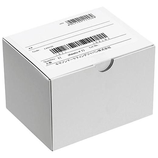 【送料無料】Canon 2764V890 IJシール紙 上紙光沢 ホワイト角丸【在庫目安:お取り寄せ】  ラベル シール シート シール印刷 プリンタ 自作