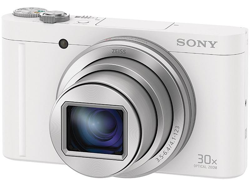 【送料無料】SONY(VAIO) DSC-WX500/W デジタルスチルカメラ Cyber-shot WX500 (1820万画素CMOS/ 光学x30) ホワイト【在庫目安:僅少】
