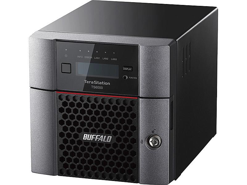 【送料無料】バッファロー TS6200DN0802 TeraStation TS6200DNシリーズ 2ベイ デスクトップNAS 8TB【在庫目安:お取り寄せ】  NAS RAID レイド