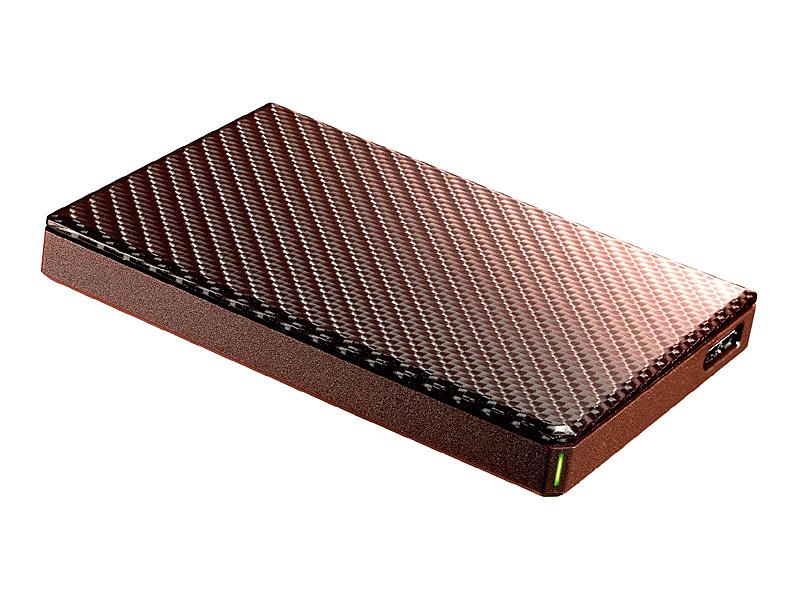【在庫目安:あり】【送料無料】IODATA HDPT-UTS2BR USB3.1 Gen1対応ポータブルハードディスク「高速カクうす」 ブリックブラウン 2TB| パソコン周辺機器 ポータブル 外付けハードディスクドライブ