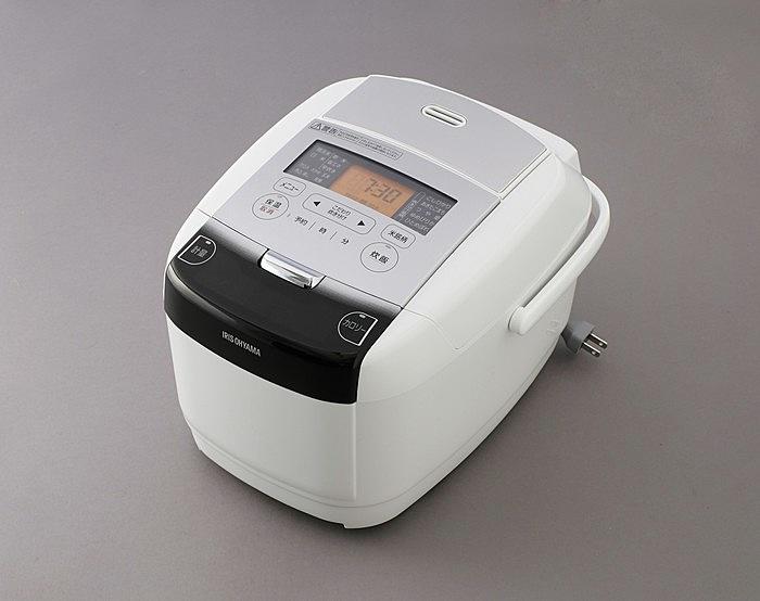 【送料無料】アイリスオーヤマ RC-IC50-W 米屋の旨み 銘柄量り炊き IHジャー炊飯器 5.5合 (分離なし)【在庫目安:お取り寄せ】| キッチン家電 電子ジャー 家族 ジャー ご飯 ごはん 新生活