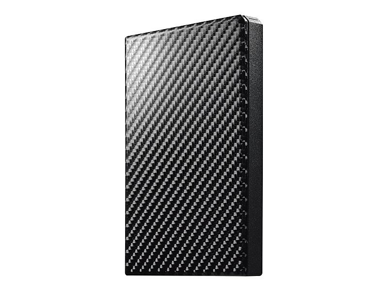 【在庫目安:あり】【送料無料】IODATA HDPT-UTS2K USB3.1 Gen1対応ポータブルハードディスク「高速カクうす」 カーボンブラック 2TB| パソコン周辺機器 ポータブル