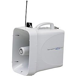 【送料無料】ユニペックス TWB-300N 30W防滴形スーパーワイヤレスメガホン ホイッスル付【在庫目安:お取り寄せ】