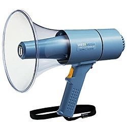 【送料無料】ユニペックス TR-315W 15W防滴形メガホン ウエットメガ ホイッスル付【在庫目安:お取り寄せ】