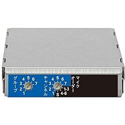 【送料無料】ユニペックス DU-850A ワイヤレスチューナーユニット ダイバシティ/800MHz帯【在庫目安:お取り寄せ】