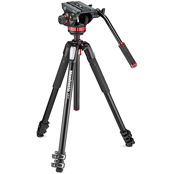 【送料無料】マンフロット MVK502055XPRO3 MVH502AHビデオ雲台+MT055XPRO3アルミ三脚【在庫目安:お取り寄せ】| カメラ 三脚 一脚 ビデオカメラ 撮影 固定 運動会 発表会 旅行 記念日 動画