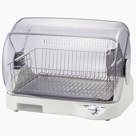 送料無料 タイガー魔法瓶 高品質新品 DHG-S400W 食器乾燥器 サラピッカ トレイ付き ホワイト 温風式 大人気! 在庫目安:お取り寄せ