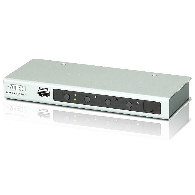 【送料無料】ATEN VS481B 4k対応 4ポートHDMIスイッチャー【在庫目安:お取り寄せ】