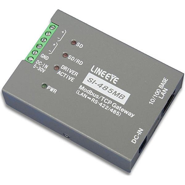 【送料無料】ラインアイ SI-485MB Modbus TCPゲートウェイ【在庫目安:お取り寄せ】