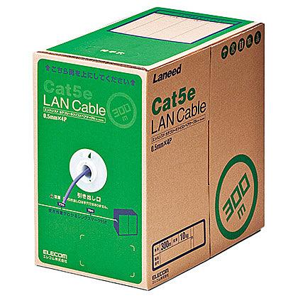 パープル/ 簡易パッケージ【在庫目安:お取り寄せ】 RoHS対応LANケーブル/ LD-CT2/PU300/RS CAT5E/ 300m/ 【送料無料】ELECOM