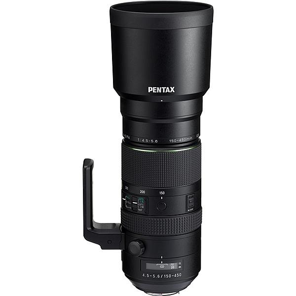 【送料無料】リコーイメージング HD DFA150-450/F4.5-5.6ED AW 超望遠ズームレンズ HD PENTAX-D FA 150-450mmF4.5-5.6ED DC AW (ケース・フード付)【在庫目安:お取り寄せ】| カメラ ズームレンズ 交換レンズ レンズ ズーム 交換 マウント