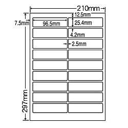 【送料無料】ナナクリエイト MCL4 カラーレーザプリンタ用ラベルマットタイプ(18面)【在庫目安:お取り寄せ】| ラベル シール シート シール印刷 プリンタ 自作