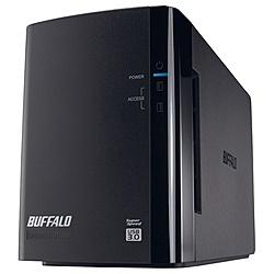 【在庫目安:あり】【送料無料】バッファロー HD-WL8TU3/R1J ドライブステーション ミラーリング機能搭載 USB3.0用 外付けHDD 2ドライブモデル 8TB| パソコン周辺機器 ディスクアレイ ディスク アレイ RAID HDD
