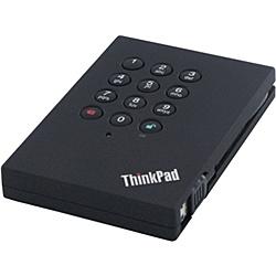 【送料無料】レノボ・ジャパン 0A65621 ThinkPad USB3.0 1TB セキュア ハードドライブ【在庫目安:お取り寄せ】| パソコン周辺機器 ポータブル 外付けハードディスクドライブ 外付けハードディスク 外付けHDD ハードディスク 外付け 外付 HDD USB