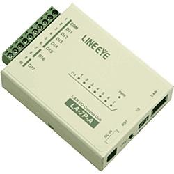 【送料無料】ラインアイ LA-7P-A LAN接続型デジタルIOユニット AC/ DC7入力【在庫目安:お取り寄せ】